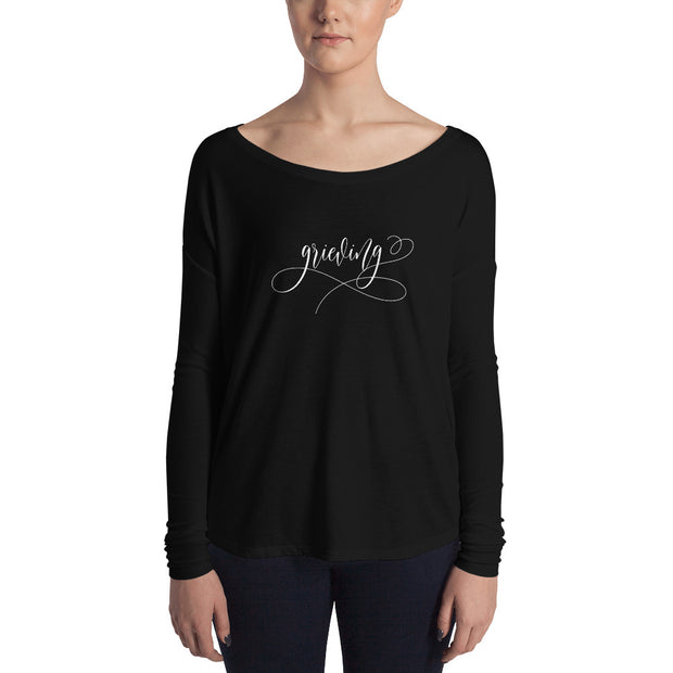 Grieving Ladies' Long Sleeve Tee