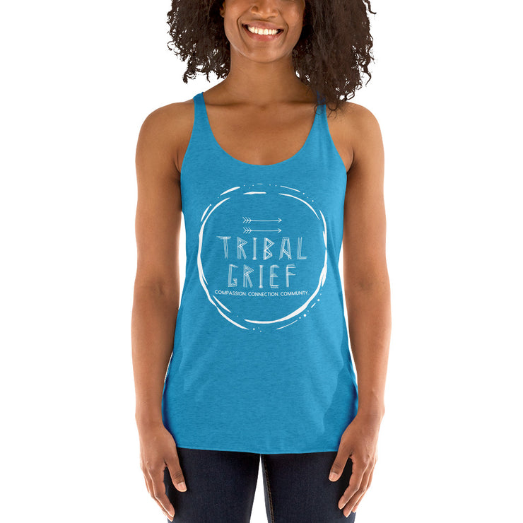 Tribal Grief Racerback Tank