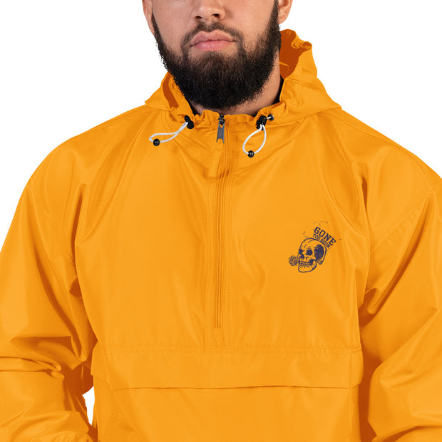 Gone Too Soon Embroidered Champion Packable Jacket