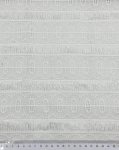 3 Meters Beautiful Designer Embroidery Fabric for Dresses Wedding Decorations and More