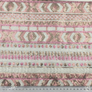 3 Meters Designer Sequence Fabric for Dresses Wedding Decorations and More