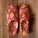 Autre Ikkat Indoor Slippers - Auruhfy India