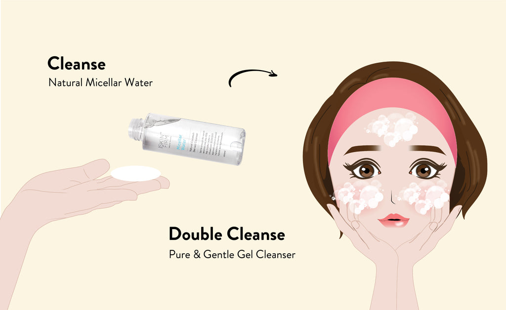 Why double cleanse your face?