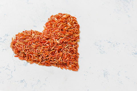 superfood red rice for healthy skin