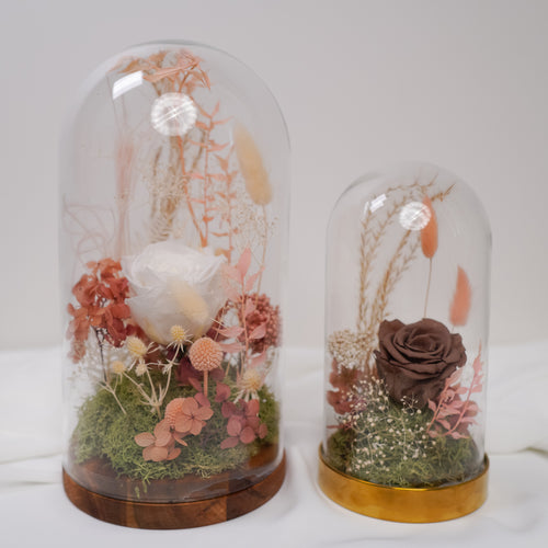 Preserved flowers dome - Florii Flower Studio