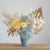 Light blue and yellow - Preserved flower arrangements - Florii Flower Studio