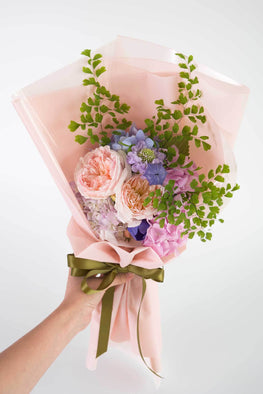 Pastel flowers bouquet - Florii Flower Studio