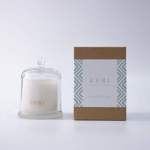 Luxury Soy Candle Ellie Cloche - Florii Flower Studio