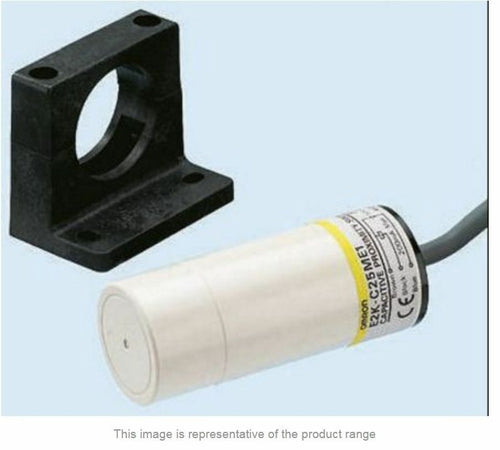 Omron  E2K-C25ME1 2M 25 mm Capacitive Proximity Sensor, NPN, 200 mA, IP66- New - J & M Global Electronics Pty Ltd