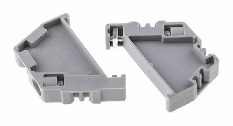 Connectwell CA802 Polyamide End Clamp Series ( Pack of 10 Pcs ) - J & M Global Electronics Pty Ltd