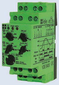 Tele Voltage OUH3W230VAC Monitoring Relay with SPST Contacts 1 Phase 230 V AC - J & M Global Electronics Pty Ltd