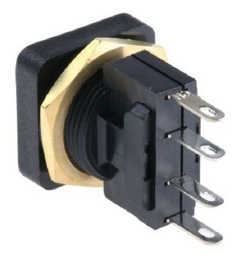 ITW 49-59222 SPDT-NO/NC Momentary Push Button Switch, Panel Mount - J & M Global Electronics Pty Ltd