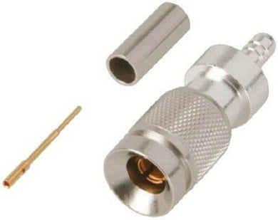 TE Connectivity 6-1393670-2 Straight 75O 1.0/2.3 Connector, Plug - J & M Global Electronics Pty Ltd