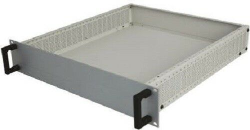 RS Pro RSHD6U466 Ventilated Heavy Duty Rack Mount Case, 6U, 266 x 483 x 466mm - J & M Global Electronics Pty Ltd