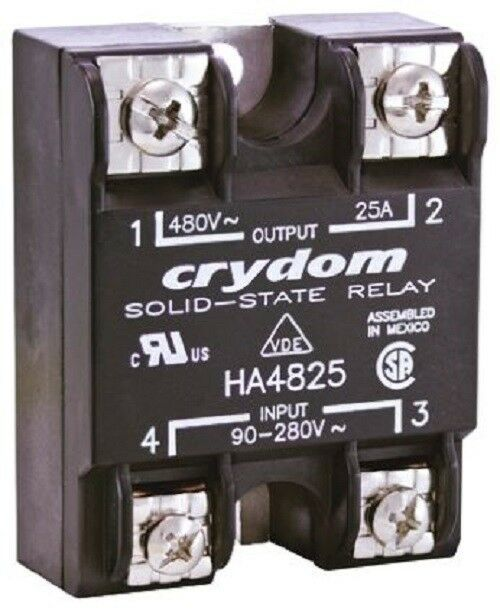 Crydom HD4890-10 90 A Solid State Relay, Instantaneous, Panel Mount SCR - J & M Global Electronics Pty Ltd