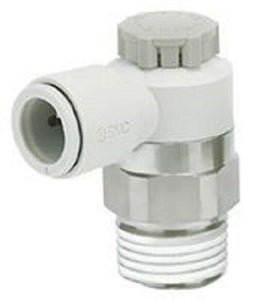 SMC AS12111F-M5-04A Speed Controller Male Inlet Port x 4mm Tube Outlet - J & M Global Electronics Pty Ltd