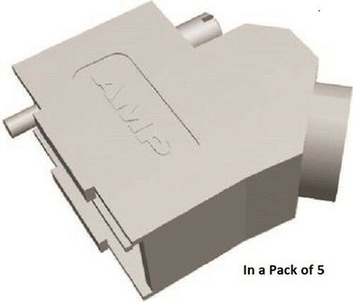 TE Connectivity 5-1478763-1 ADK Series Series Zinc Angled D-sub Connector - J & M Global Electronics Pty Ltd