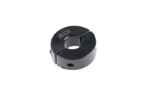 Huco 46201010 Collar Two Piece Clamp Screw, Bore 10mm, OD 24mm, W 9mm, Steel - J & M Global Electronics Pty Ltd