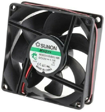 Sunon ME80251V3-000U-A99 ME Series Axial Fan, 80 x 80 x 25mm - New - J & M Global Electronics Pty Ltd