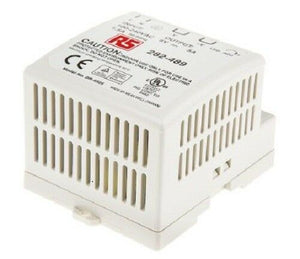 MEANWELL DR-4505 Switch Mode DIN Rail Panel Mount Power Supply, 25W, 5V dc/ 5A - J & M Global Electronics Pty Ltd