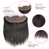 13x4 Lace Frontal Malaysian Human Hair Straight