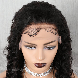 Natural Wave 13*6 Deep Parting Human Hair Lace Front Wigs