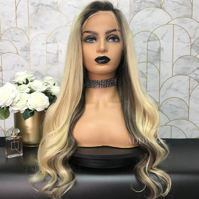 Rachel Remy Hair Lace Front Wigs Balayage