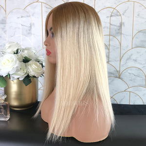 Gloria Remy Hair Lace Front Wigs T8/613 Blonde
