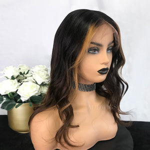 Yvette Remy Hair Lace Front Wigs Balayage