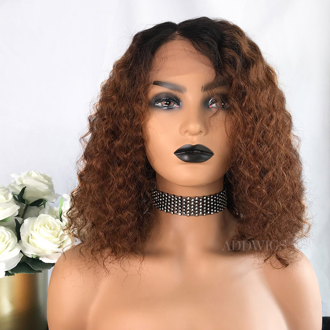 Tiffany Remy Hair Lace Front Wigs T1B/30