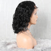 Natural Wave Lace Front Wigs Glueless Short Human Hair Lace Wig