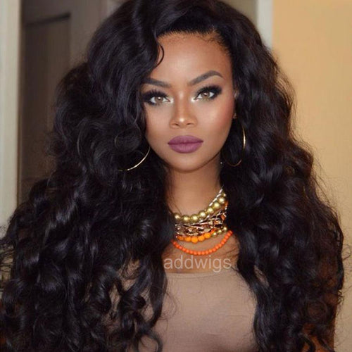 Tight Loose Wave Natural Color 360 Wigs Best Lace Human Hair Wigs