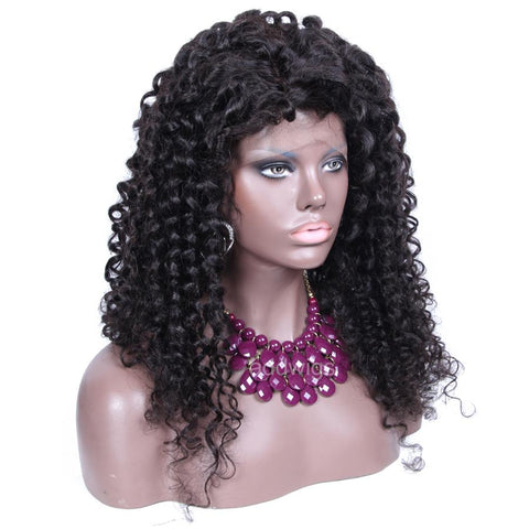 Loose Kinky Curly Wigs 2017 Best Sale Human Hair 360 Wigs For Sale