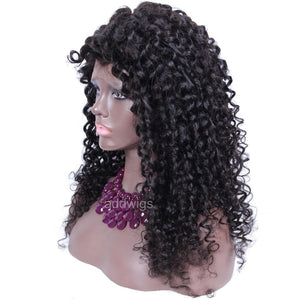 Loose Kinky Curly Wigs 2020 Best Sale Human Hair 360 Wigs For Sale