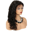 Wavy 360 Lace Front Wig 100% Human Hair Lace Wigs With Natural Hairline