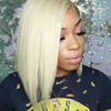 Best Virgin Hair #613 Blonde Bob Straight Human Hair Lace Wigs