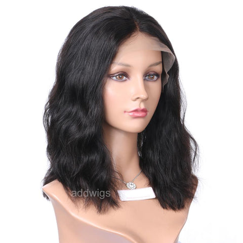 Short Wavy Human Hair Wigs Best Sale Bob Lace Wigs