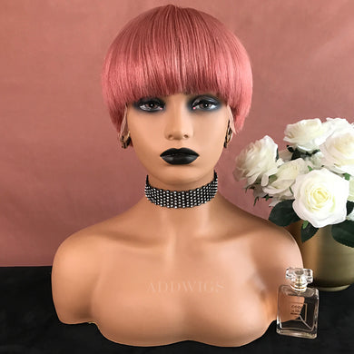 Jessica Remy Hair Lace Front Wigs Pink