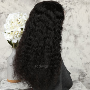 Loose Curly 360 Wigs Free Part With Natural Hairline 360 Lace Front Wig