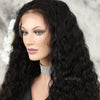 Loose Curly 5x5 Inches Lace Closure Wig Free Part With Natural Hairline