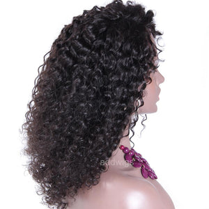 Fashion Tight Curly Human Hair African American Wigs For Black Women