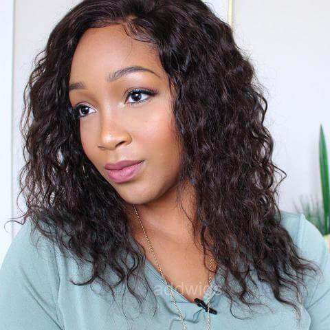 2017 Hot Sale Loose Curly Human Hair African American Wigs