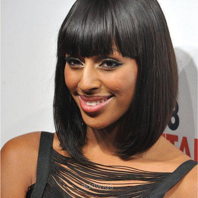 Alexandra Burke Same Style Customized Celebrity Human Hair Lace Wig