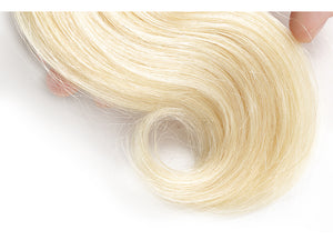 Hair Weave 3 Bundles Deal #613 Blonde Malaysian Human Hair Body Wave