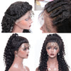 Loose Curly Human Hair Full Lace Wigs With Pre-plucked Natural Hairline