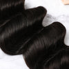 2 Bundles With Lace Frontal Malaysian Human Hair Deep Wave Hair Weave With Frontal