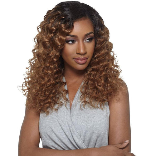 Ombre Full Lace Wigs Two Tone Colors #1bT#30 Human Hair Wigs