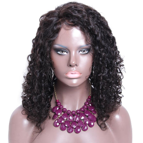 Full Curly Human Hair Wigs Hot Sale Lace Front Wig Best Hair Quality