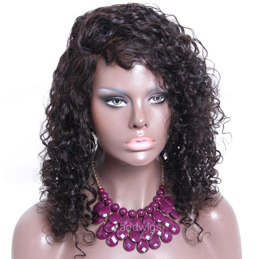 Best Sale Curly Human Hair Lace Wigs Uk 8a Remy Hair Lace
