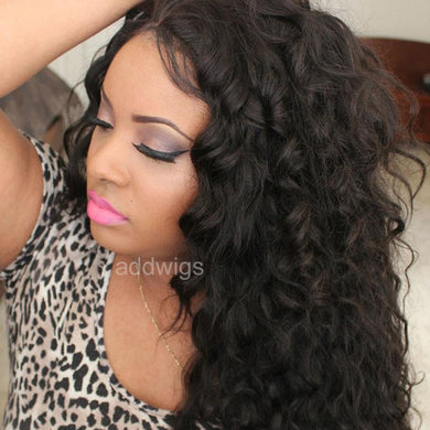 Best Lace Front Wigs Tight Loose Wave Human Hair Wigs for Sale